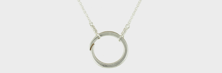 hillary druxman circle of life necklace