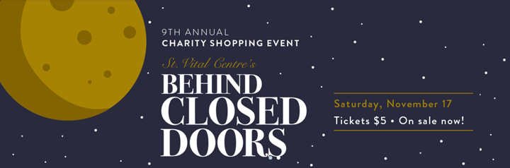 St. Vital Centre Behind Closed Doors Event Banner