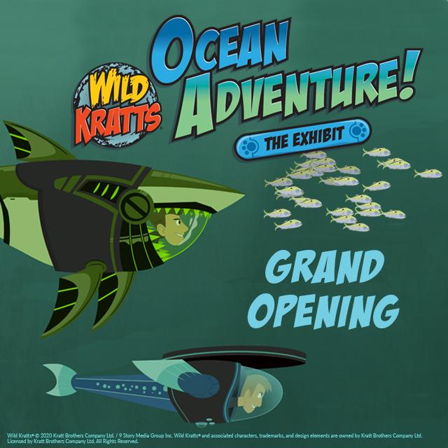 Wild Kratts: Ocean Adventure Grand Opening