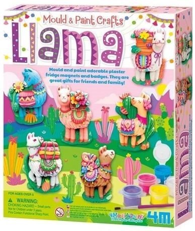 Mould & Paint Llama Kit