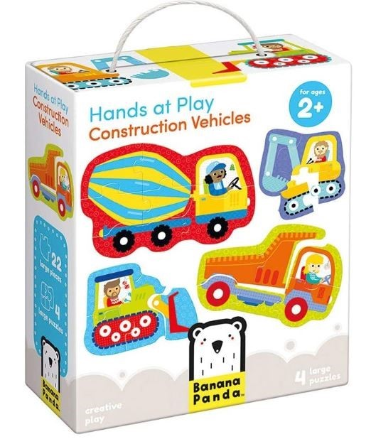 Hands At Play Construction Vehicles