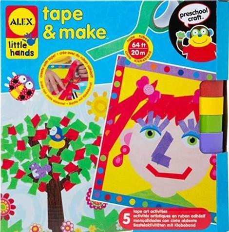 Little Hands Tape & Make Kit
