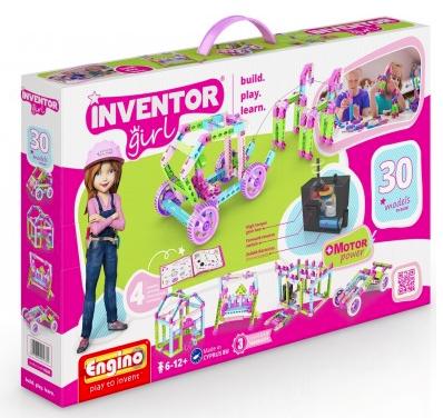 Inventor Girl 30 Motorized Models Kit