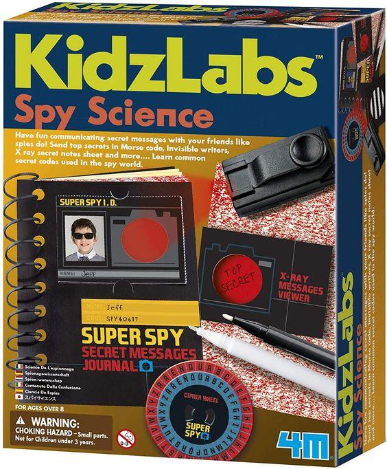 Spy Science Kit