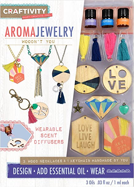 Craftivity Aroma Wooden Jewelry