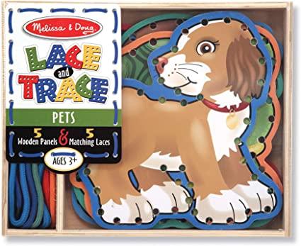 Lace & Trace Activity Set Pets