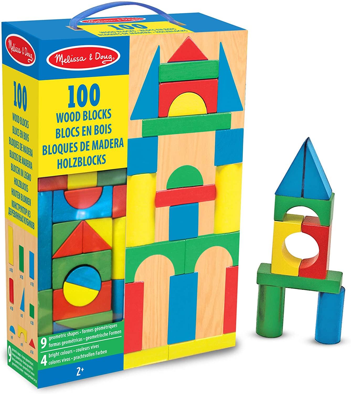 Wood Building Blocks