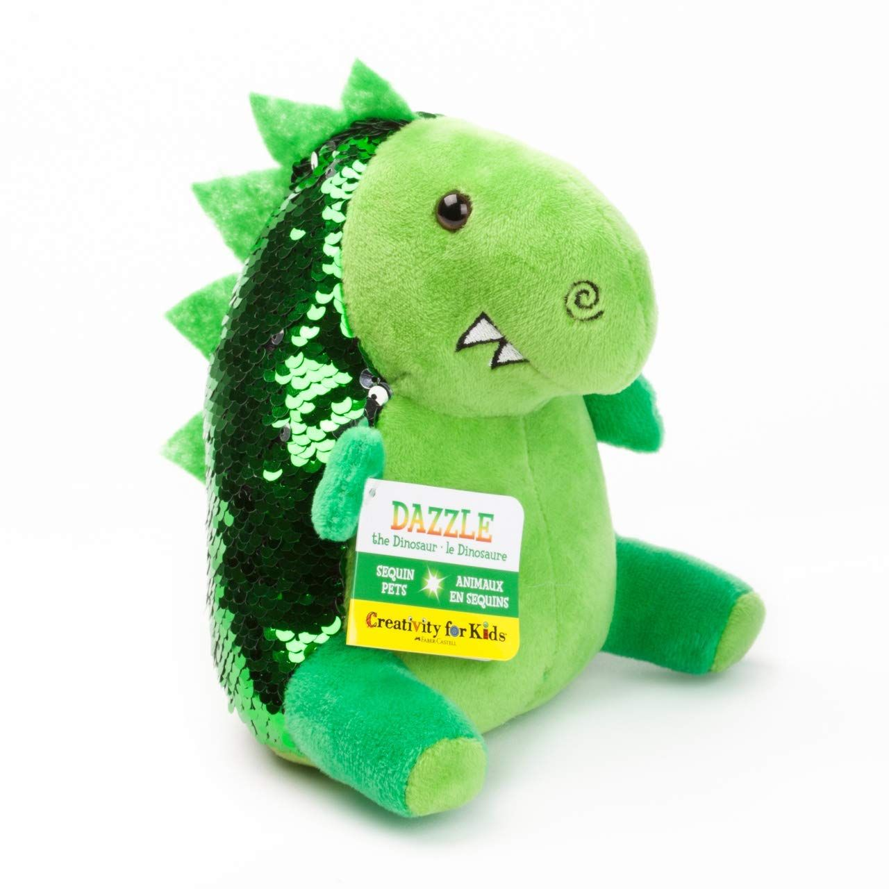 Mini Sequin Pets Dinosaur